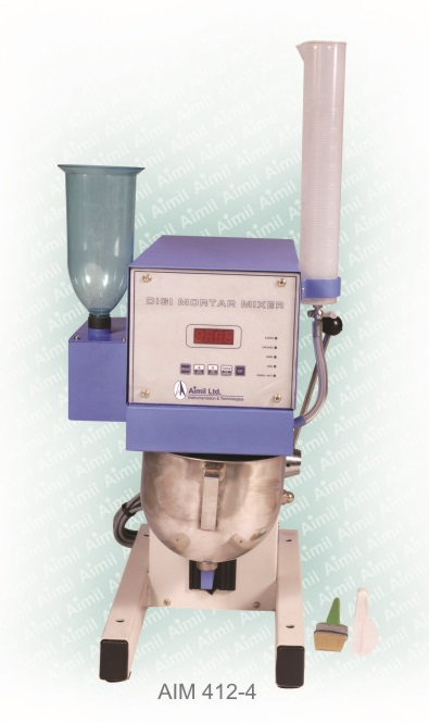 Automatic/Manual Digi Mortar Mixer, 5 Litre Nominal Capacity