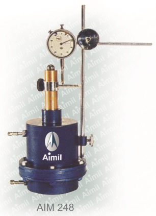 Aimil product, building materials testing | Cross Permeability Test Apparatus | cement testing equipment