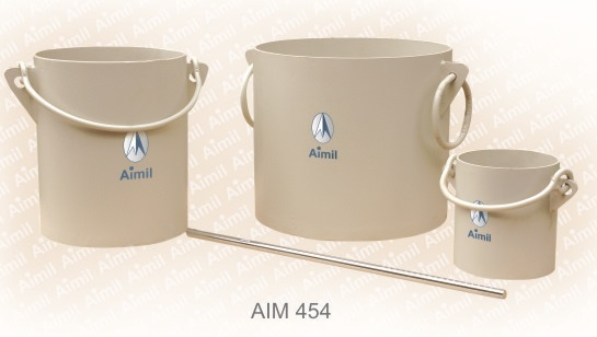 Aimil product, building materials testing | Cylindrical Metal Measures | Cement testing equipment