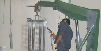Painting Capabilities, Pre-treatment plants in Delhi and Noida – Aimil.com