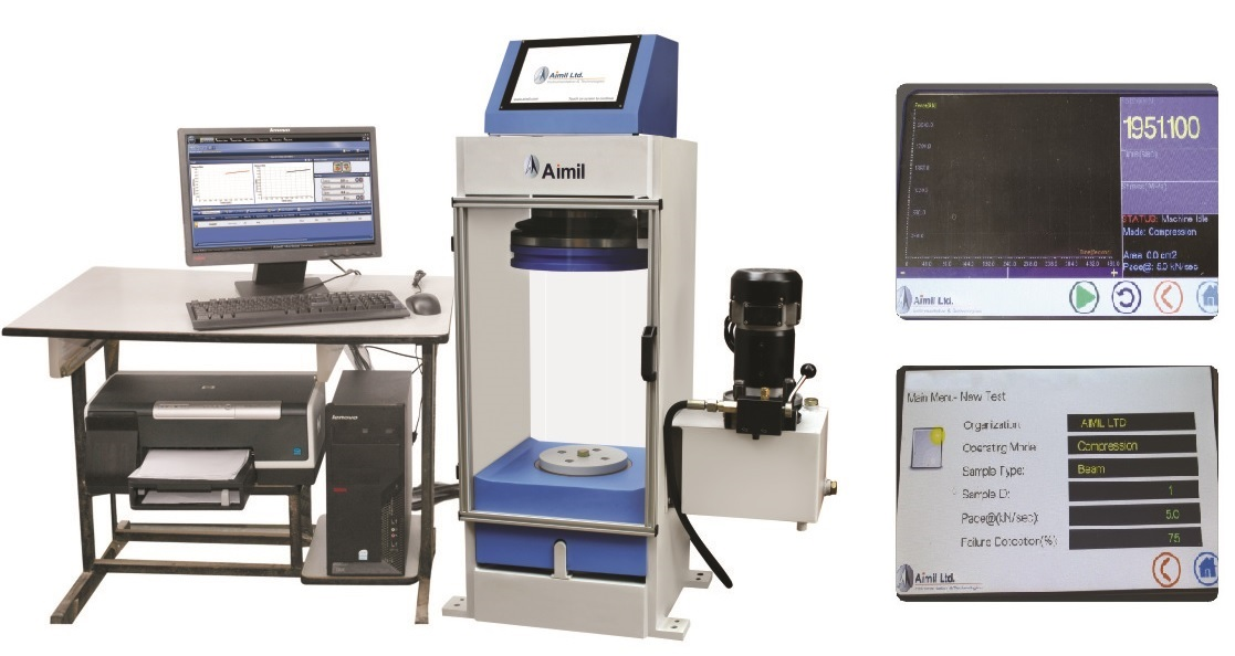 Aimil Prime Automatic Compression Testing Machine (Fully Automatic)