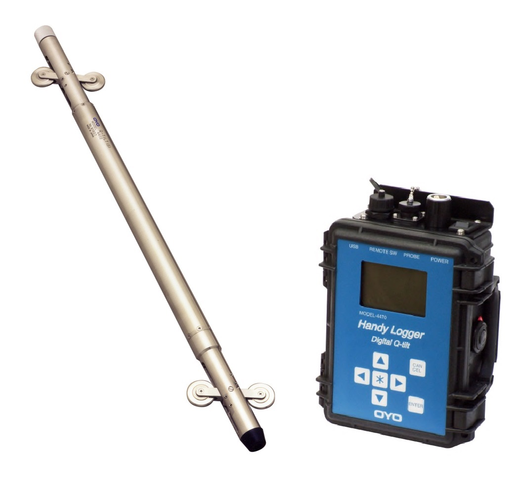 Digital Q-Tilt 6000 Probe & Handy Logger Digital Q-Tilt