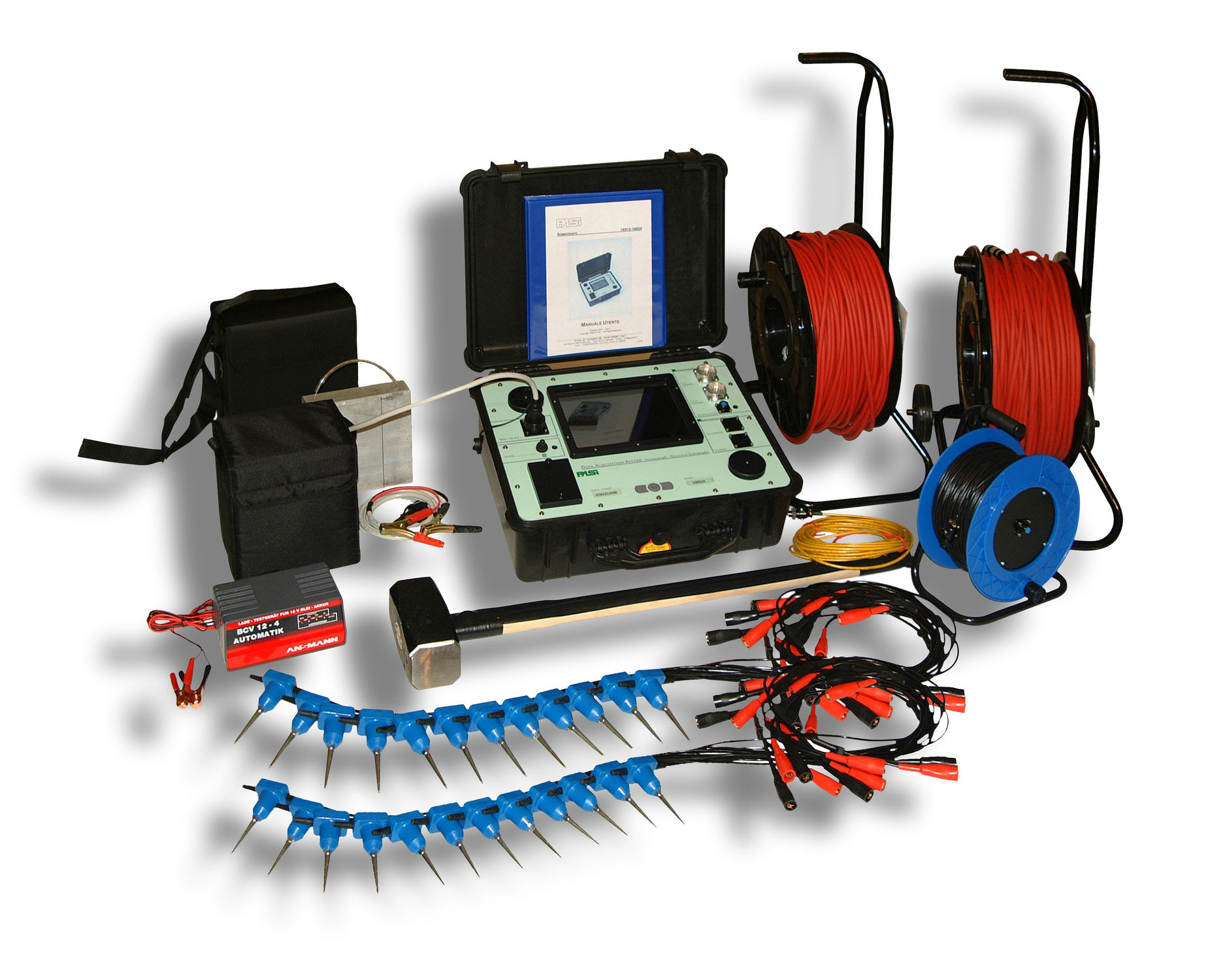 Exploration Digital Seismograph (16S24-N) 24-Channels - Best Seismograph Equipment Distributors India