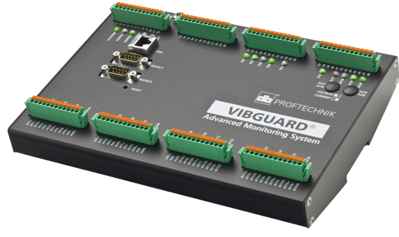 VIBGUARD® - Synchronous Data Acquisition, FFT analys