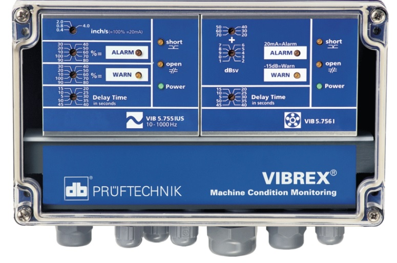 VIBREX - Pruftechnik Condition Monitoring Gmbh, Germany - Synchronous Data Acquisition, FFT analysis