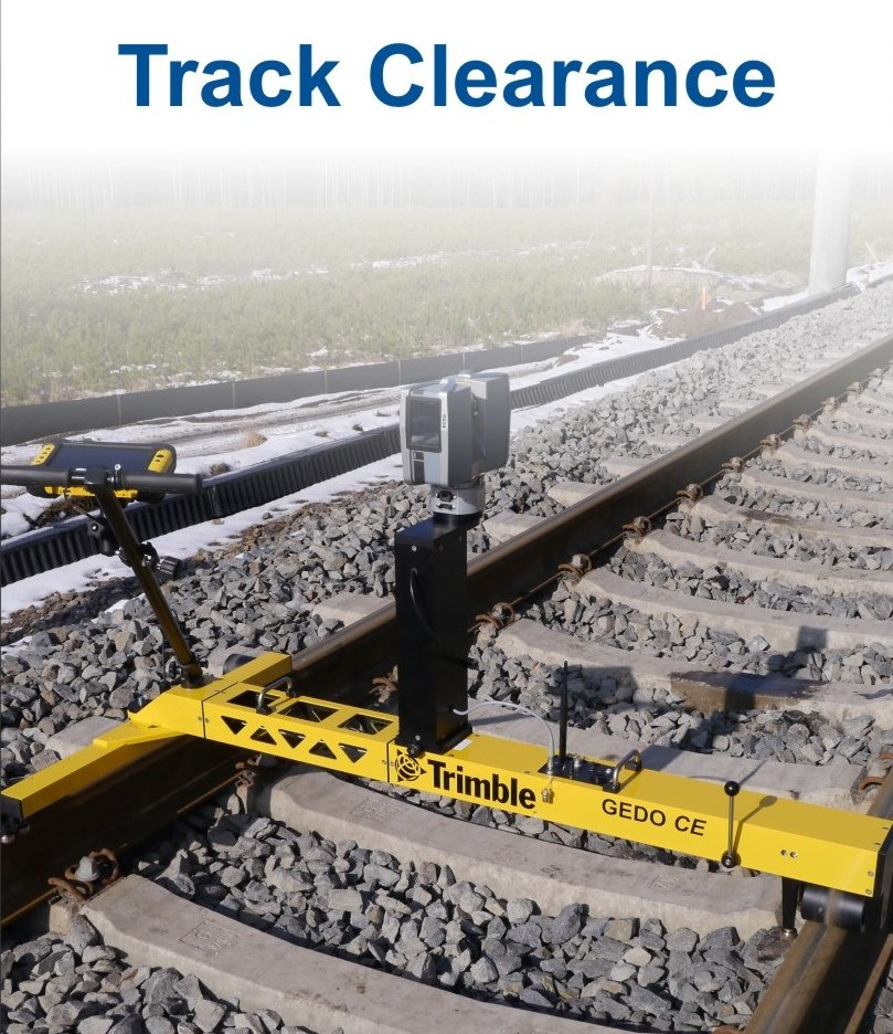 Track Clearance / Schedule of Dimention : Trimble GEDO Scan System