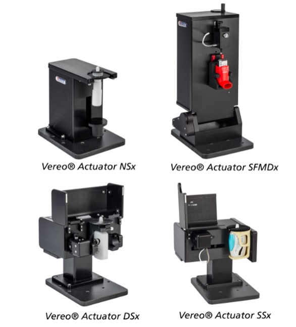Vereo Nasal & Shaking MDI Actuators