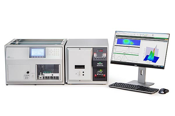 Viscotek Range - Malvern Instruments - GPC/SEC, Viscotek; molecular weight, light scattering; triple