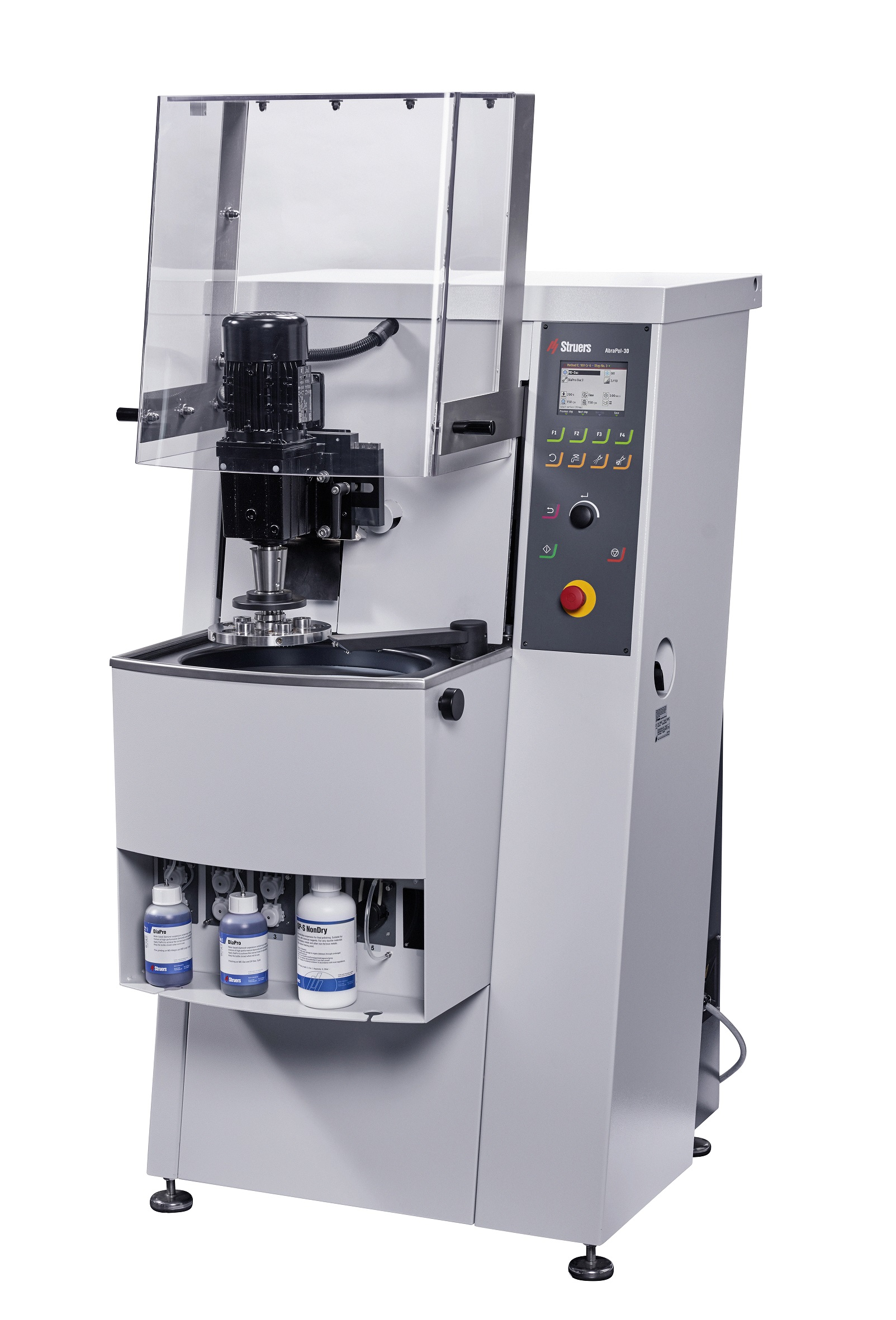 AbraPol-30 High-capacity grinding/polishing machine