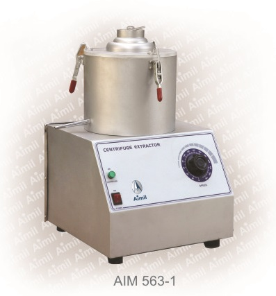 Centrifuge Extractor, Capacity 1500g Electrically Operated