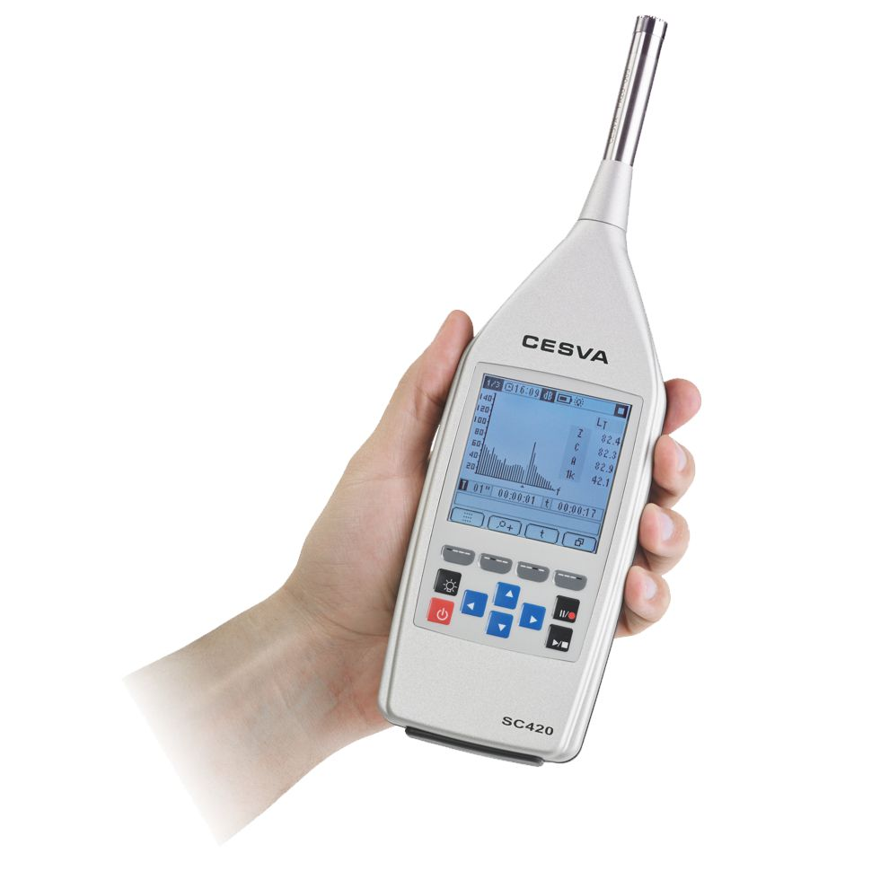 sound level meter and spectrum analyser