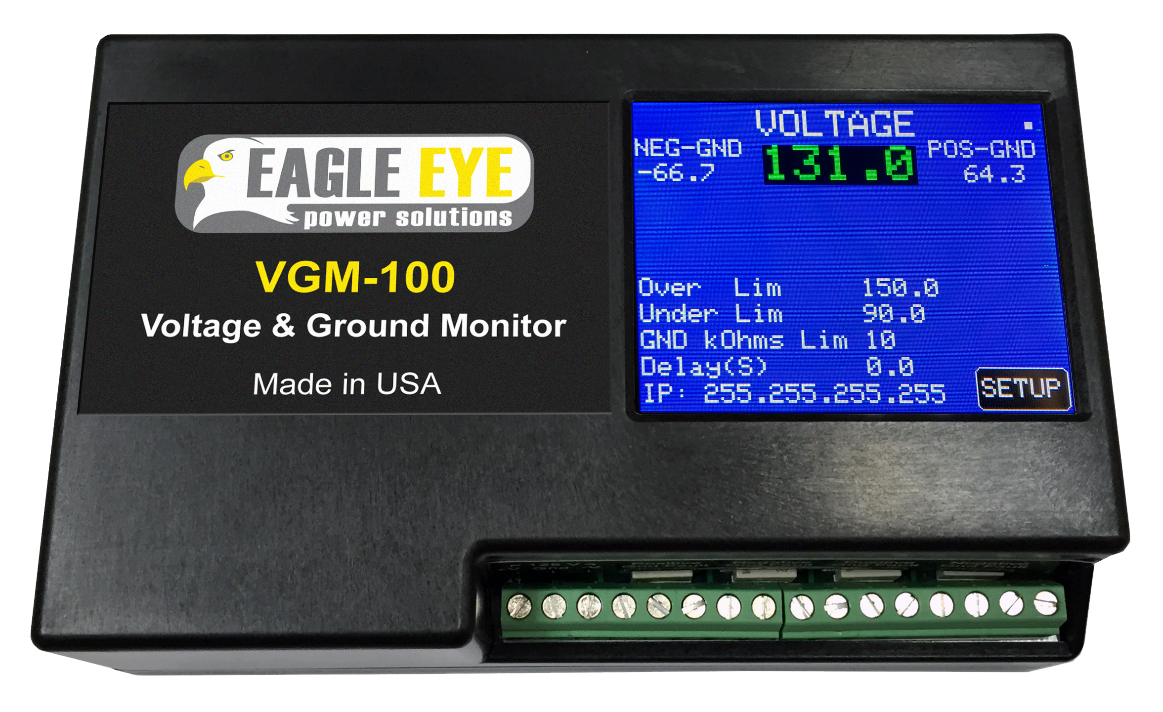 Voltage & Ground Fault Monitoring Systems