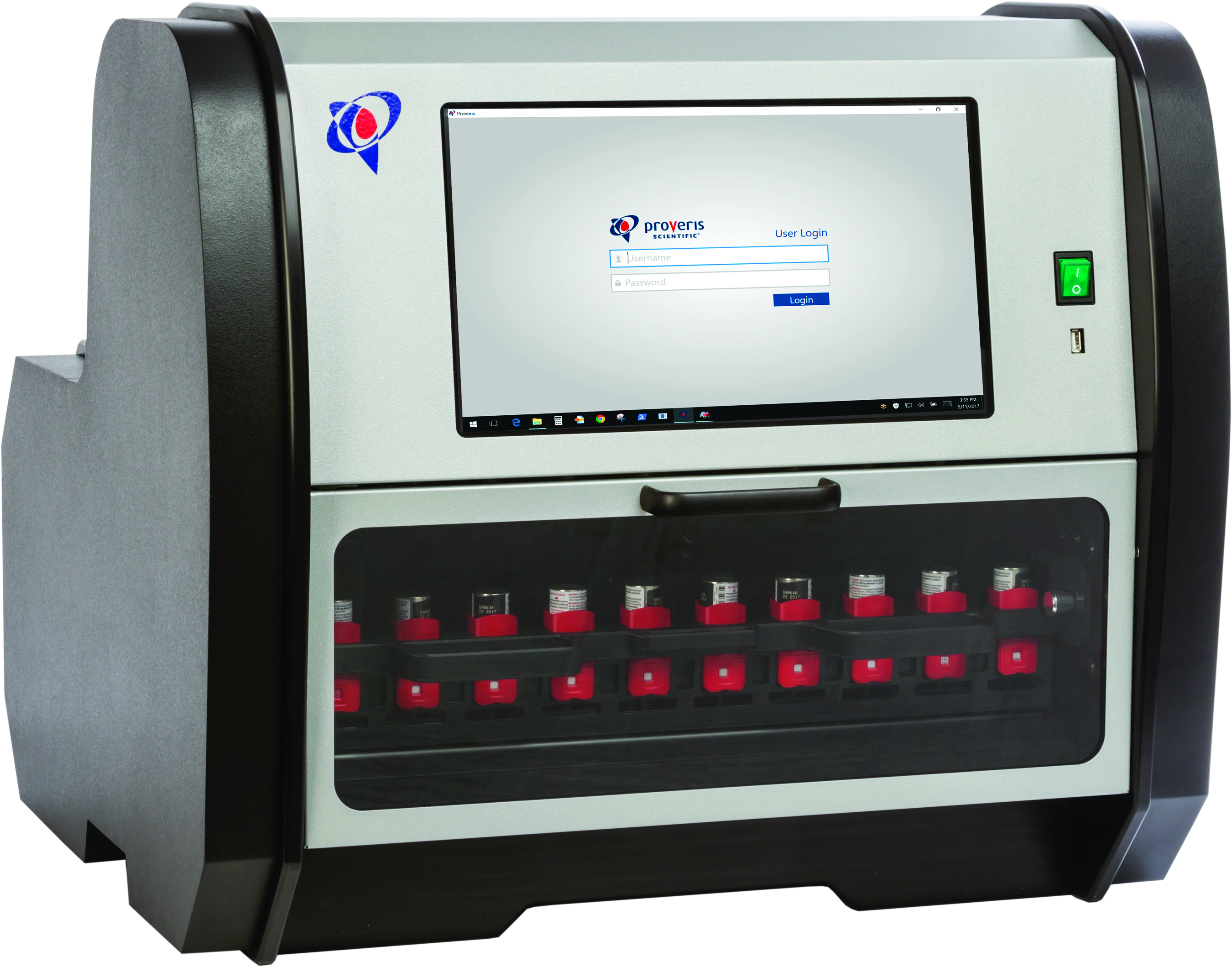 Kinaero High-Throughput pMDI Fire-Down System