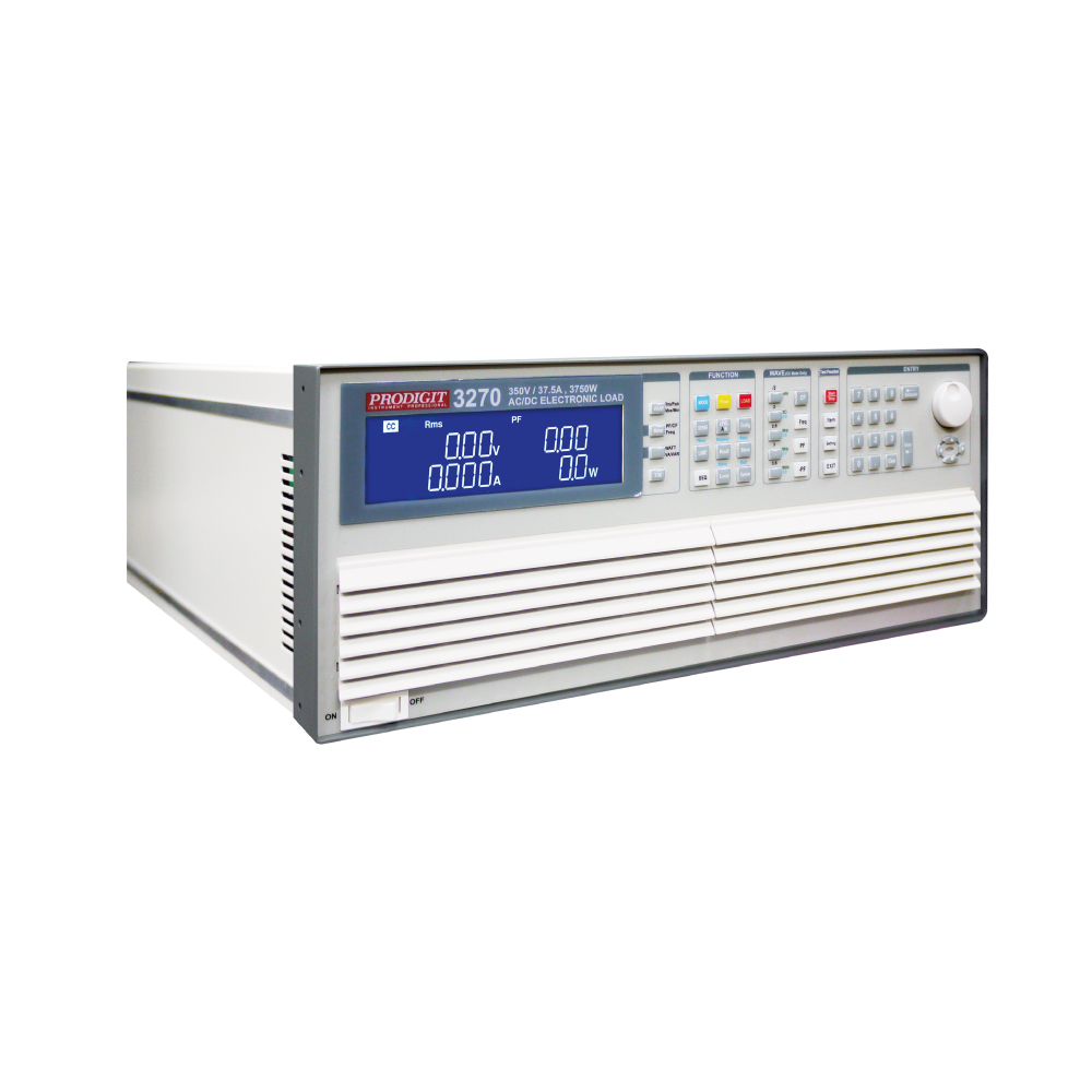 3270 Series (350V~480V, 18.75A~28A and 1875W~22500W) AC & DC Electronic Load
