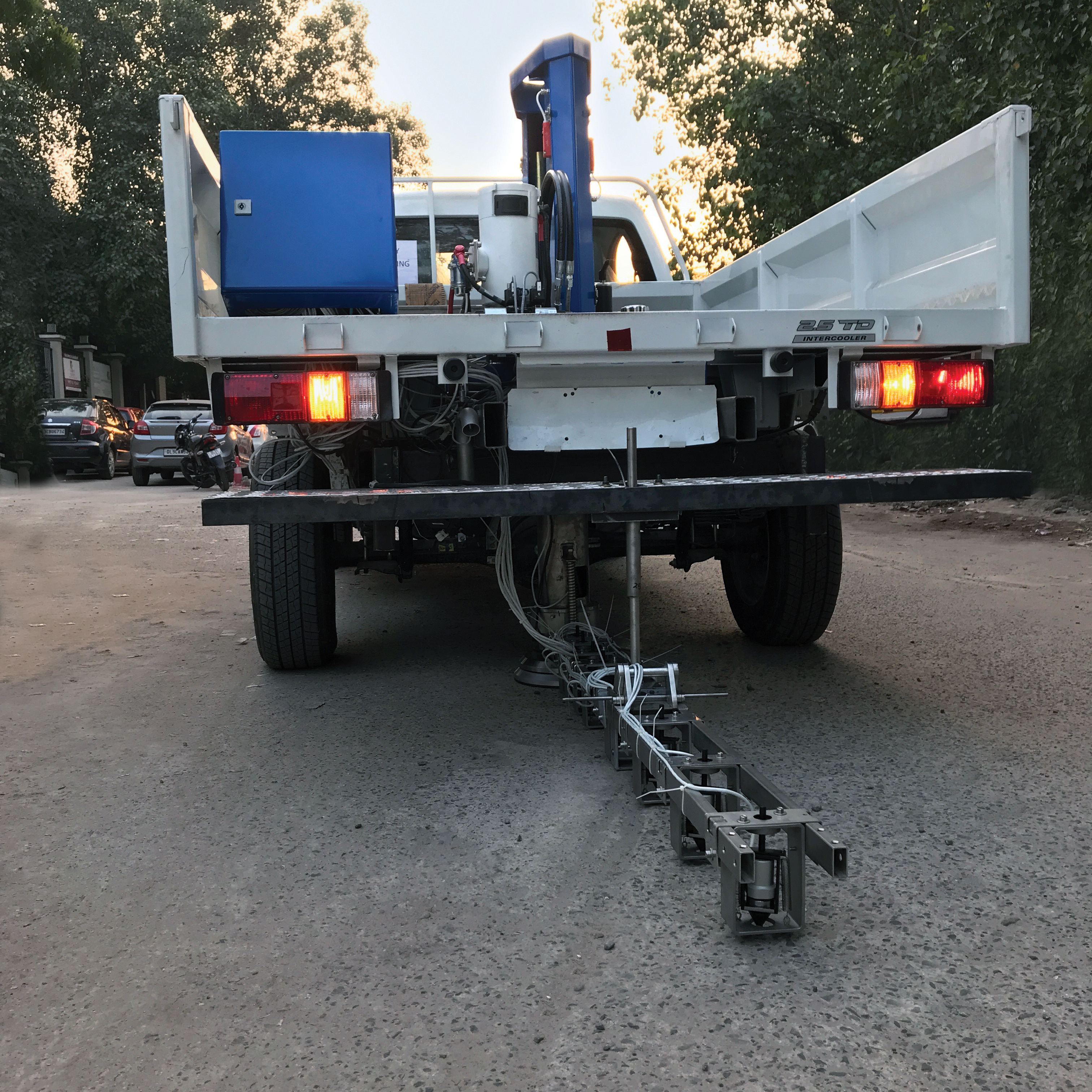 Truck Mounted Deflectometer