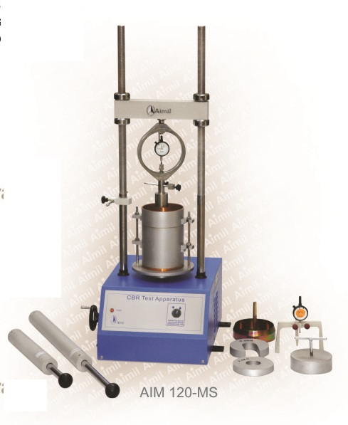 Aimil product, building materials testing, CBR Test, CBR Test Procedure, CBR Test for Soil, CBR Test Report , CBR California bearing ratio, CBR testing machine, CBR test procedure on site, field CBR test, Soil bearing test, procedure of CBR test, CBR value test, Uses of CBR test, Soil testing instruments - Aimil.com