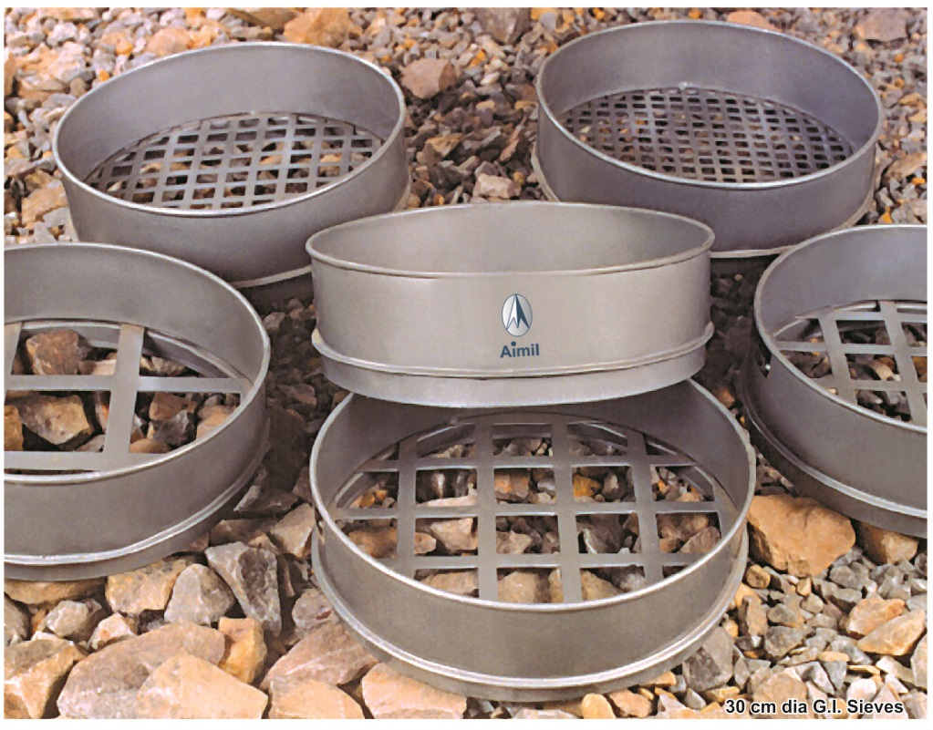 Aimil products, building materials testing, Sieves Set, Soil testing instruments - Aimil.com