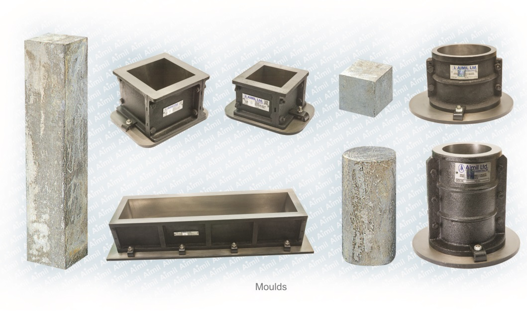 Aimil products, building materials modulus, Cube Moulds Models, Beam Moulds, soil testing instruments - Aimil.com