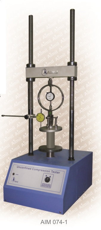 Aimil products, building materials, Unconfined Compression Tester, Soil testing instruments - Aimil.com