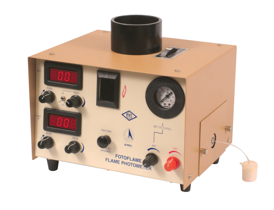 Flame Photometer for Biological Fluids, Cement Analysis, Milk Characterisation, Soil Analysis, Find Sodium