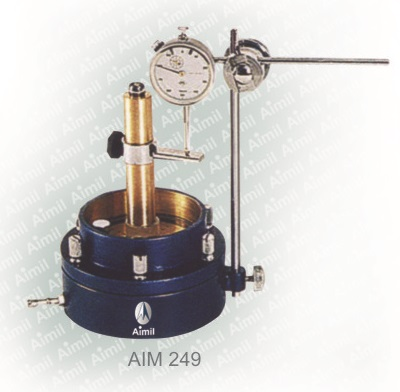 Aimil product, building materials testing, In-Plane Permeability Test Apparatus, Soil testing instruments – Aimil.com