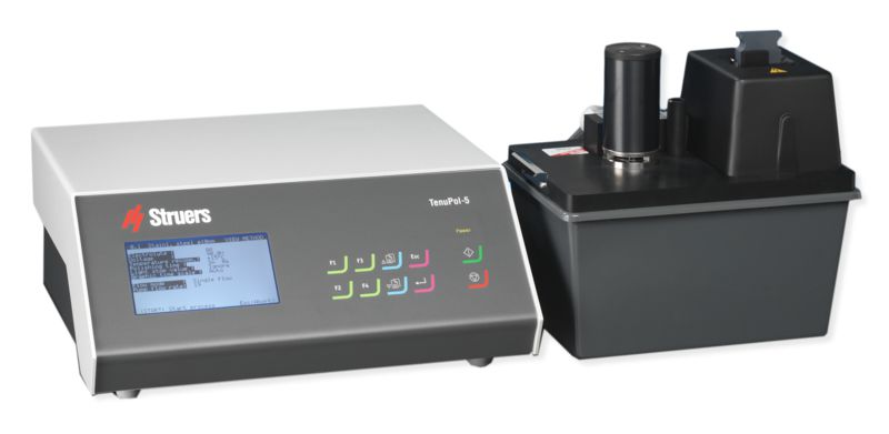 Tenupol-5 Automatic Electrolytic Thinning of Specimens for Transmission Electron Microscopy