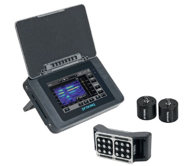 Pundit Ultrasonic Instruments- Ultrasonic Pulse Velocity (UPV) Model Pundit Lab, Pundit Lab+, Pundit PL200 and Pundit PL200E, aimil.com, Proceq  products