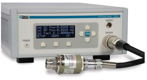 RF Power Sensor Calibration System and Transfer Standards