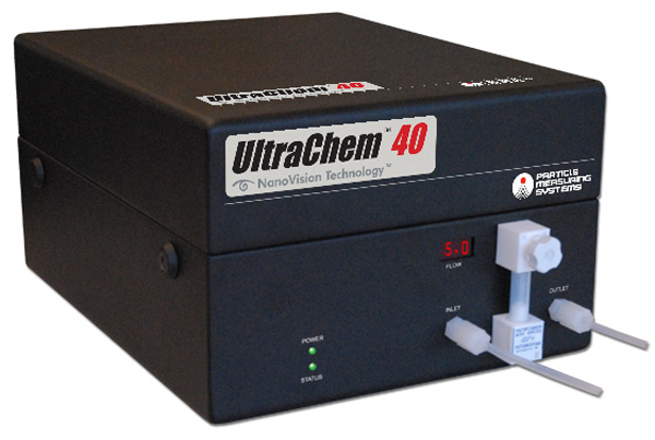 Particle Counter for Inline Chemicals