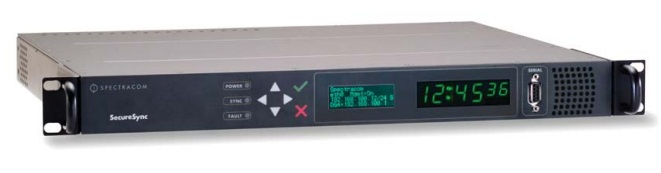 Securesync PTP/NTP Synchronisation system,Orolia products