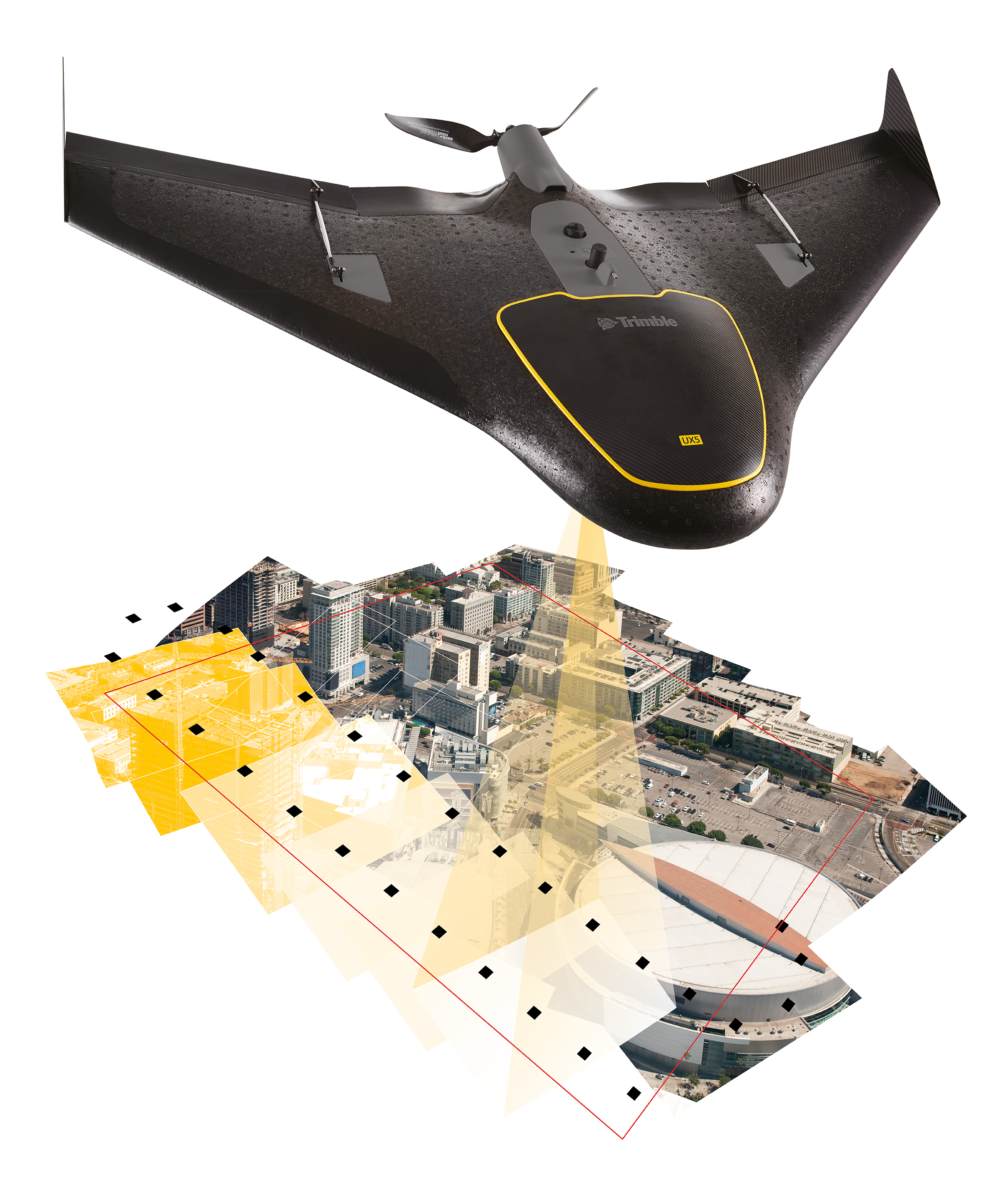 Trimble UX5 Unmanned Aircraft System - Trimble Products from Trimble Navigation, USA - UX5, UX5 HP,