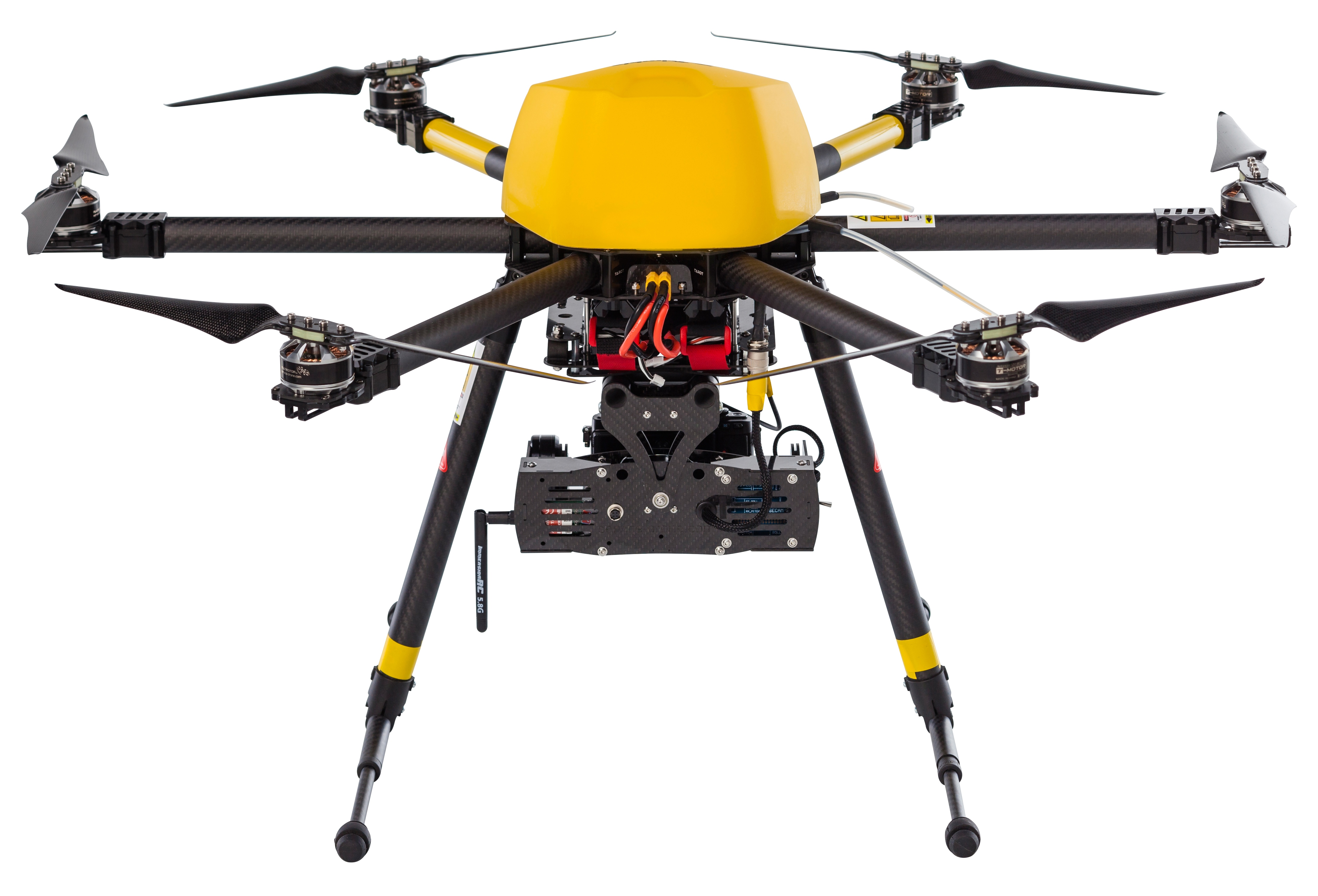 Trimble ZX5 Multirotor Unmanned Aircraft System - Trimble Products from Trimble Navigation, USA - Tr