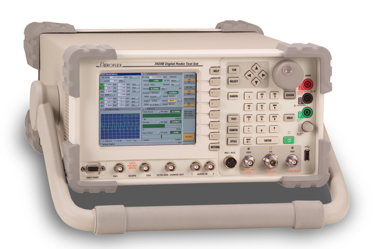 3920B Series Analog and Digital Radio Test Platform