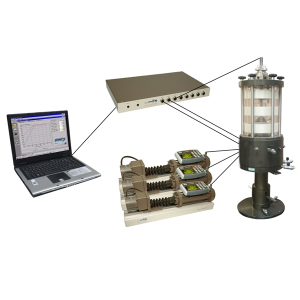GDS Triaxial Testing System (GDSTTS)
