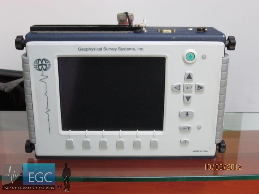 GSSI SIR-3000 Ground Penetrating Radar Control Unit - Aimil