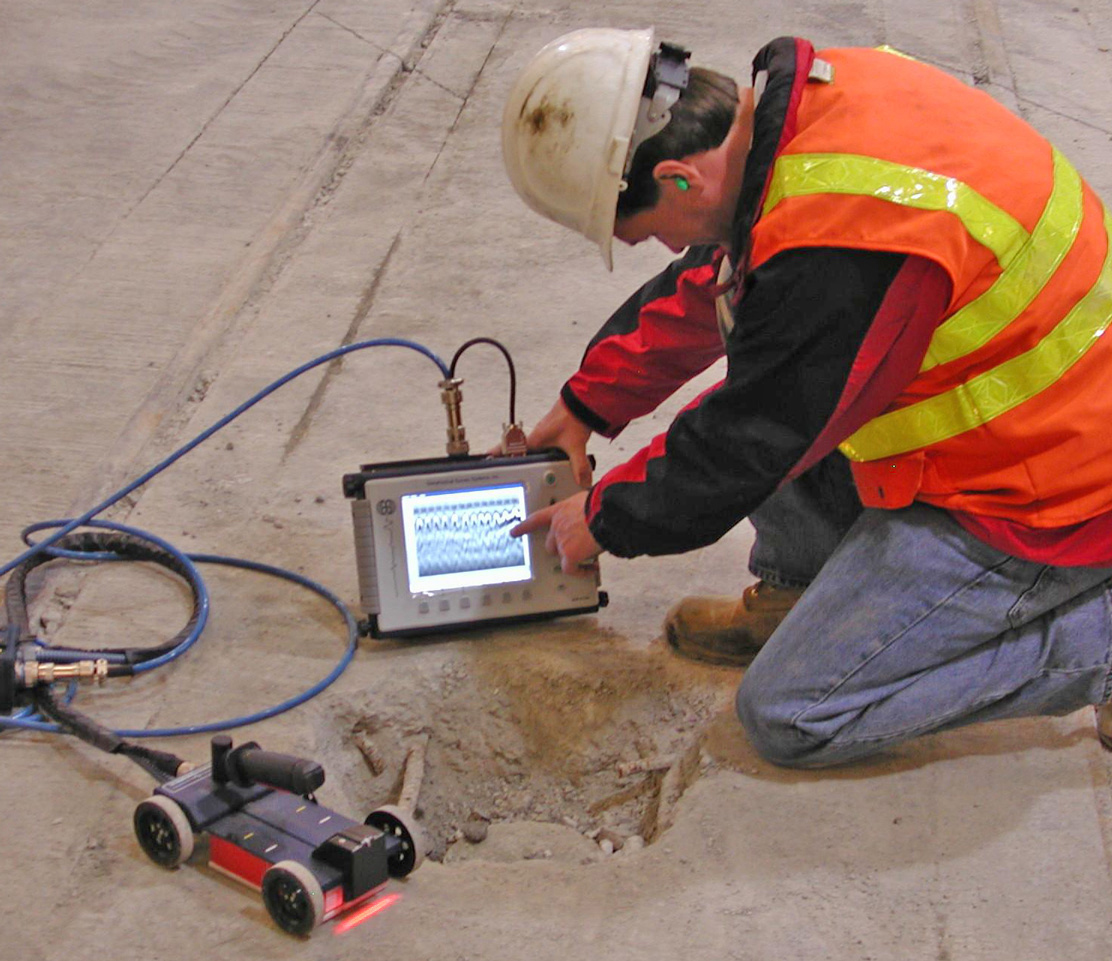 Structure Scan Optical GPR